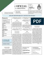 Boletin Oficial 01-06-10 - Segunda Seccion
