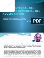 MANEJO INTEGRAL DEL SINDROME DEMENCIAL DEL ADULTO MAYOR.pptx