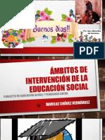 Ambitos de intervención de la educación social.ppt