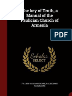 The Key of Truth. A Manual of the Paulician Church of Armenia
