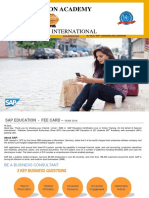 sap education corporate level - fee   contents 1