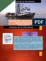sindicato de pescadores