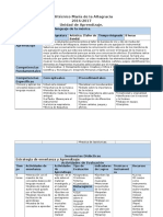 Planificacion Programa de Banda (Solfeo) 2016-2017, Jonatan Cuevas (Segun Modelo)