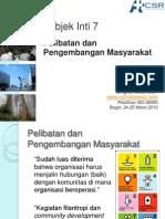 Community Development and Involvement_Draft ISO 26000