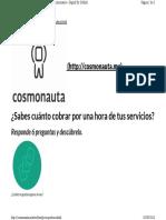 Cosmonauta.mx Toolbox Precioporhora