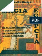 Budge Wallis Magia Egipcia PDF