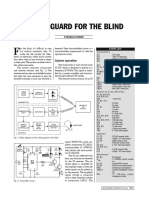 Micro Based Safty Gaurd for Blinds