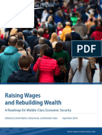 Raising Wages and Rebuilding Wealth