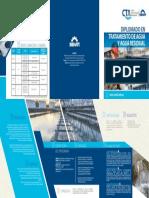 Brochure Diplomado Tratamiento de Agua 2016