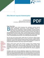 Etika Menulis Sustainabilty Report