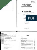 Bourdieu y Darbel - El amor al arte.pdf