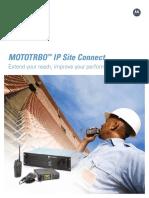 MOTOTRBO IP Site Connect Brochure