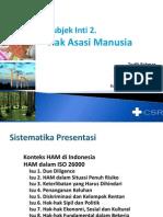 HAM Dalam Draft ISO 26000