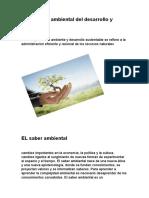 Perspectiva Ambiental Del Desarrollo y Arquitectura