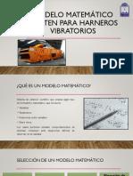 Modelo Matemático Whiten Para Harneros Vibratorios