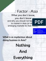 Fear Factor - Asia