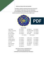 PerKa BNPB Nomor 9 Tahun 2013
