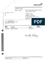 St Tammany Travelers Policy Including Umbrella Attachment WITH PAYMENT DECK SHEET
