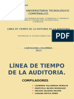 etapas de la evolucion de la auditoria