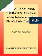 Beversluis - Cross-Examining Socrates.pdf