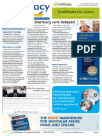 Pharmacy Daily for Wed 07 Sep 2016 - UK pharmacy cuts deferred, EpiPen, Priceline, SHPA, Xarelto training, new products and more