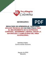 Seminario- Promover- Cultura Fisisca.