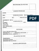 Formulários FND-UFRJ 43 Páginas