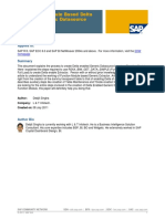 Functional Module Based Delta Enabled Generic Datasource