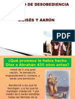 28ejemplo de Desobediencia Moises y Aaron