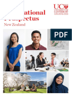 UC - International Student Prospectus 2017