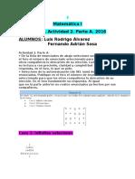 Matemática I-Actividad 2 Parte a-b-c