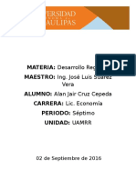 Desarrollo Regional - Geografía Mexicana