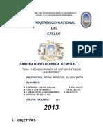 Informe Nº 1 Reconocimiento de Materiales