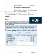 PO Freight Conditions