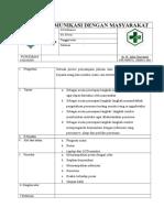 Kriteria 5.1.6.4 Sop Komunikasi Dengan Masyarakat EDITED