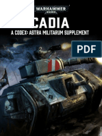 Codex - Astra Militarum - Cadia Supplement