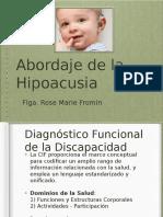 Abordaje de La Hipoacusia en Chile