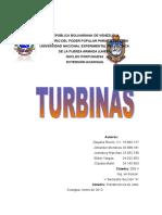 Trabajo de Turbinas
