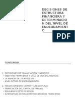 DECISIONES DE ESTRUCTURA FINANCIERA Y DETERMINACION DEL NIVEL DE ENDEUDAMIENTO.docx
