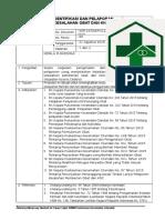 8.2.5.1 Identifikasi Dan Pelaporan Kesalahan Pemberian Obat KNC