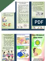 Leaflet Cara Menyusui Yang Benar