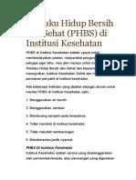 SAP PHBS
