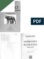 Derecho Romano - Primer Curso - Agustin Bravo Gónzalez