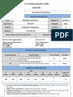 Abhishek Agarwalla (2013JE0512) - B.tech. (Petroleum Engineering)