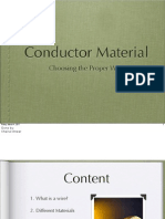 Conductor Material