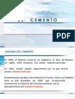 DIAPOSITIVAS DE CEMENTO