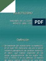 9.  ECLECTICISMO