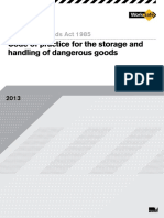 Code of Practice for the Storage and Handling of Dangerous Goods