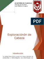 Exploración Cabeza, Cuello y Tórax Equipo 1
