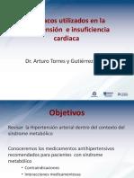 Farmacos Utilizados en La Hipertension e Insuficiencia Cardiaca